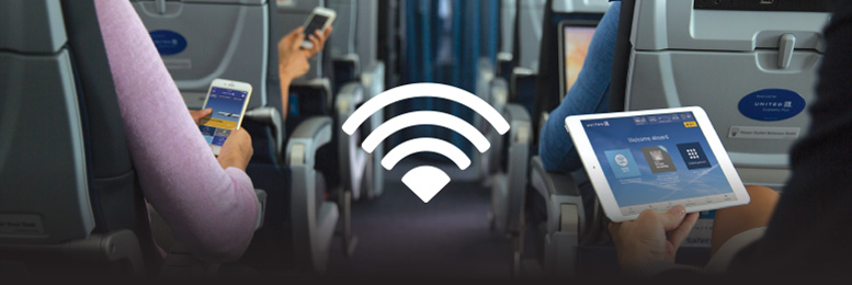 The plane will cover the wifi network