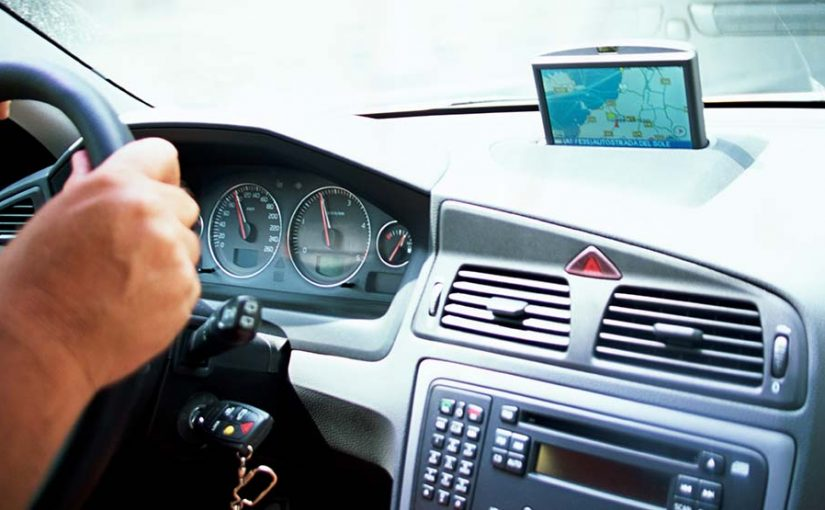 GPS satellite navigation is used in the automotive field of jamming devices