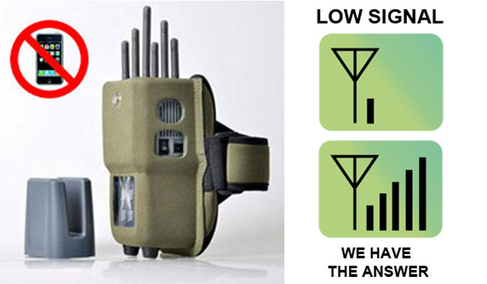 Mobile phone signal jammer application scope